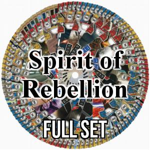 Set completo de Spirit of Rebellion