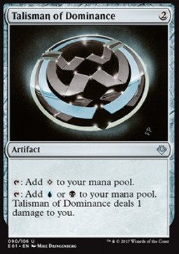 Talisman de dominance