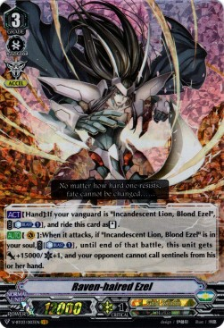 Raven-haired Ezel (Version 1 - Vanguard Rare)