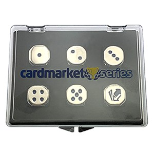 Cardmarket Series VIP Metal Dice Set