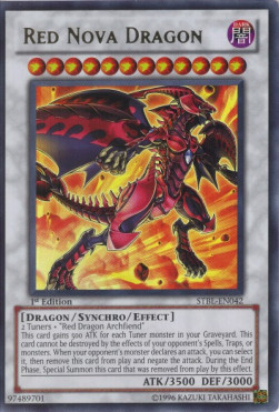 Red Nova Dragon (Version 1 - Ultra Rare)