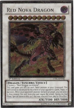Red Nova Dragon (Version 2 - Ultimate Rare)