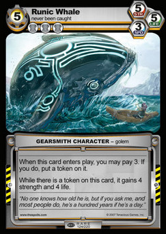 Runic Whale