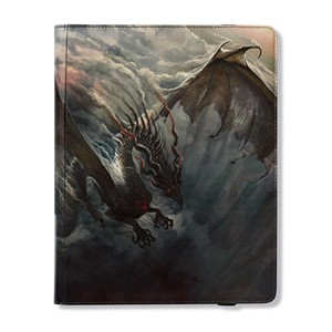 "Dragon Shield: ""Fuligo"" Smoke 9-Pocket Binder"