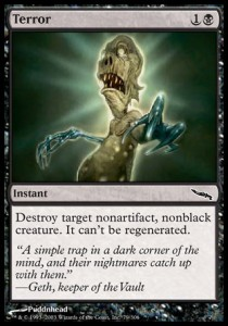 MRD Magic Card MTG: Spoils of the Vault Mirrodin Black Rare
