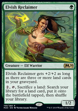 Elvish Reclaimer