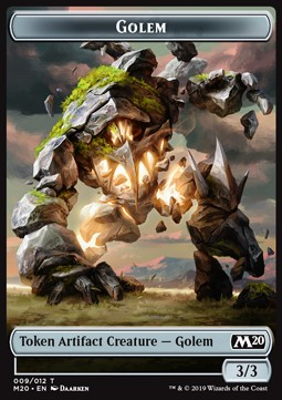 Golem Token (Artifact 3/3)