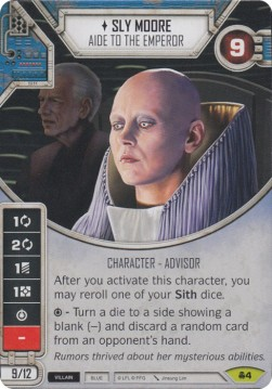 Sly Moore - Aide of the Emperor