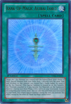 Rank-Up-Magic Astral Force (V.1 - Ultra Rare)
