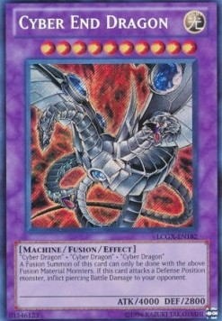 Cyber End Dragon (Version 2 - Secret Rare)