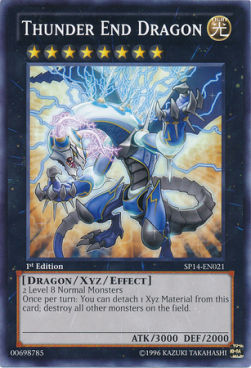 Thunder End Dragon (Version 1 - Common)