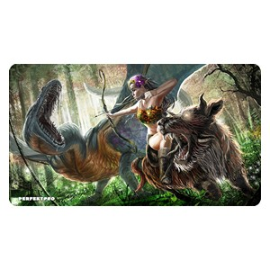 Green Warrior Playmat