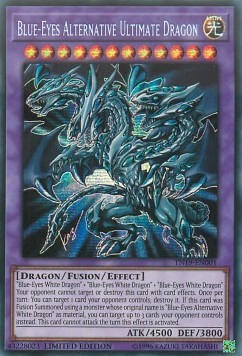 Blue Eyes Alternative Ultimate Dragon Tn19 Ygo Singles Cardmarket