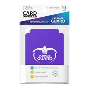 10 Ultimate Guard Dividers (Purple)