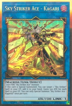 Sky Striker Ace - Kagari (V.2 - Gold Rare)