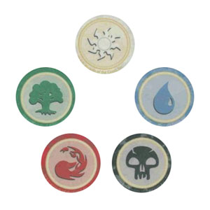 Magic the Gathering Poker Chips (Set of 5)