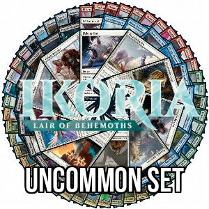 Ikoria: Lair of Behemoths: Uncommon Set