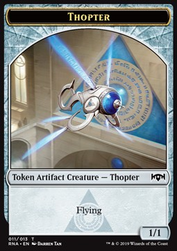 Bird Token (WU 1/1) // Thopter Token (A 1/1)