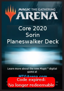 Arena Code Card (Planeswalker Deck) (Version 3)
