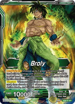 Broly // Broly, Evil Unleashed