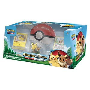 Collection Pikachu & Eevee Poke Ball