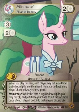 Mistmane *Pillar of Beauty* (Version 2 - Royal Rare)