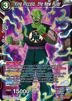 King Piccolo, the New Ruler