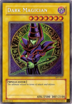 Dark Magician (Version 2 - Secret Rare)