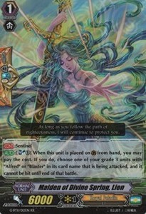 Maiden of Divine Spring, Lien [G Format] (Version 2 - Double Rare)