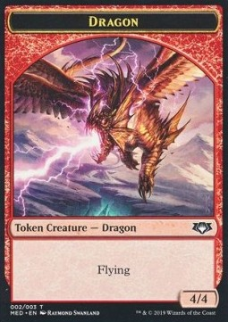 Dragon Token (Red 4/4)