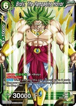 Broly, The Rampaging Horror (Version 1 - Super Rare)