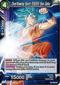 Overflowing Spirit SSGSS Son Goku