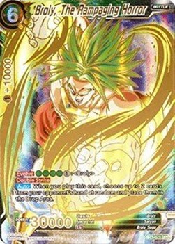 Broly, The Rampaging Horror (Version 2 - Special Rare)