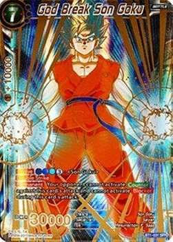 God Break Son Goku (Version 2 - Special Rare)
