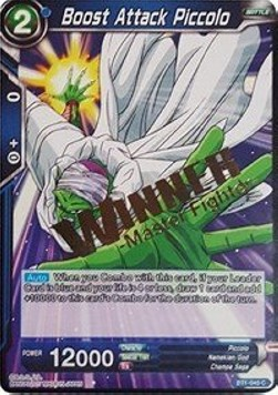 Boost Attack Piccolo