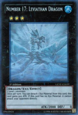 Number 17: Leviathan Dragon (V.3 - Ghost Rare)