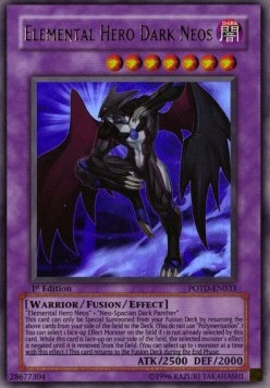 Elemental Hero Dark Neos (V.1 - Ultra Rare)