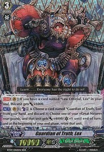 Guardian of Truth, Lox [G Format] (Version 2 - Triple Rare)