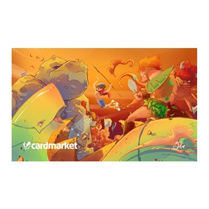 "Cardmarket ""Warriors vs. Monsters"" Spielmatte"