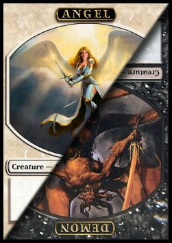 Angel/Demon Token