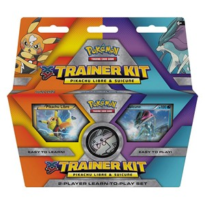 XY Trainer Kit: Pikachu Libre & Suicune