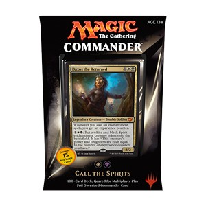 "Commander 2015: ""Call the Spirits"" Deck (White/Black)"