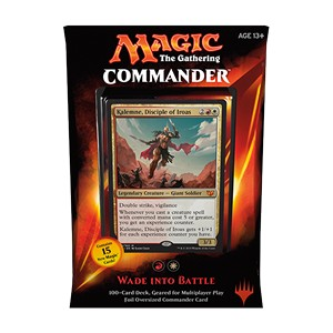 "Commander 2015: ""Wade into Battle"" Deck (Red/White)"
