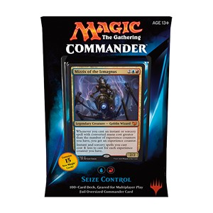 "Commander 2015: ""Seize Control"" Deck (Blue/Red)"