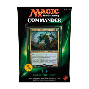 "Commander 2015: ""Swell the Host"" Deck (Green/Blue)"