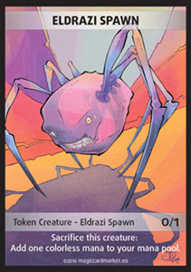 Eldrazi Spawn Token (Colorless 0/1)