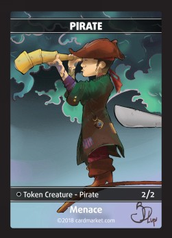 Pirate Token (Black 2/2)