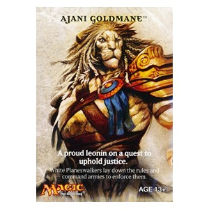 Magic 2011: Ajani Goldmane Sample Deck