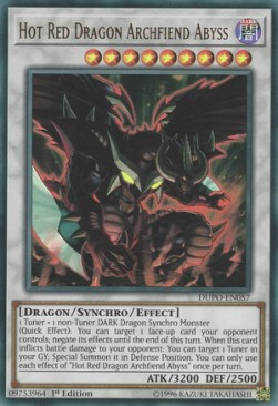 Hot Red Dragon Archfiend Abyss