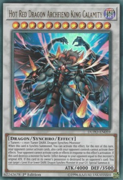 Hot Red Dragon Archfiend King Calamity